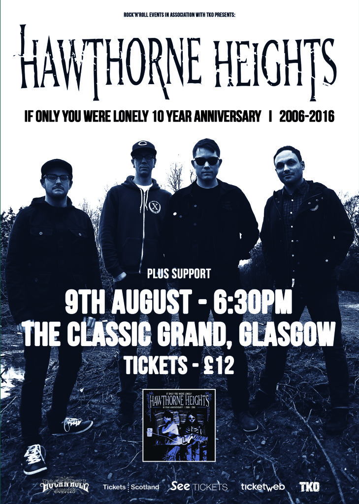 Hawthorne Heights - 9th August (WEB)