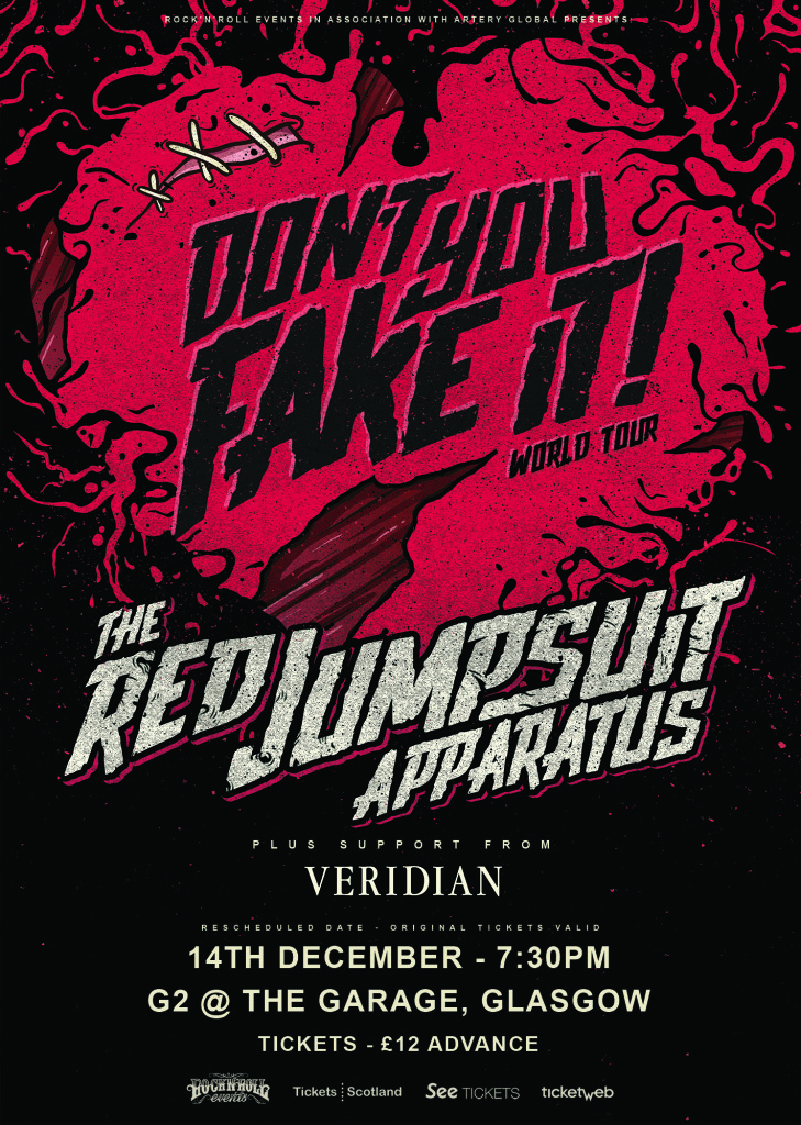 003 Red Jumpsuit Web Poster
